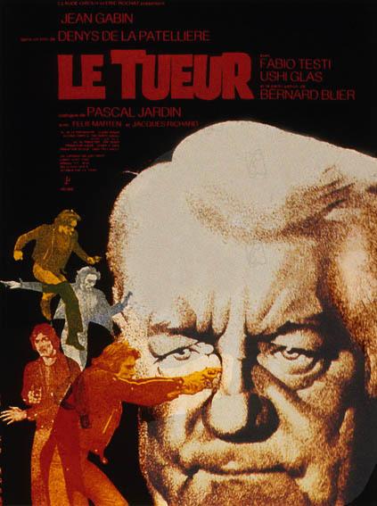 Le Tueur : Affiche Denys de La Patellière, Jean Gabin