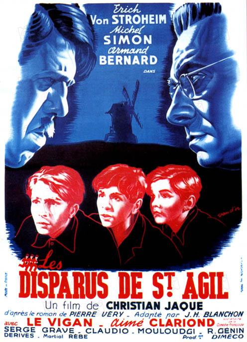 Les Disparus de Saint-Agil : Affiche Christian-Jaque