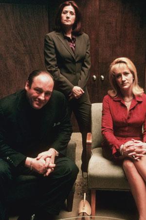 Les Soprano : Photo James Gandolfini, Lorraine Bracco