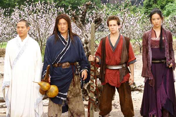 Le Royaume interdit : Photo Jackie Chan, Jet Li, Michael Angarano, Yifei Liu