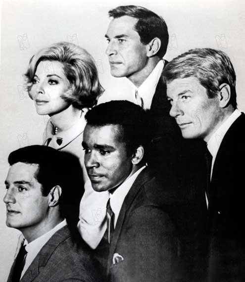 Mission: Impossible (1966) : Photo Barbara Bain, Greg Morris, Martin Landau, Peter Graves, Peter Lupus