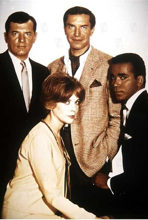 Mission: Impossible (1966) : Photo Barbara Bain, Greg Morris, Martin Landau, Steven Hill