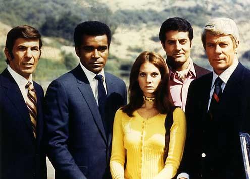 Mission: Impossible (1966) : Photo Greg Morris, Leonard Nimoy, Lesley Ann Warren, Peter Graves, Peter Lupus