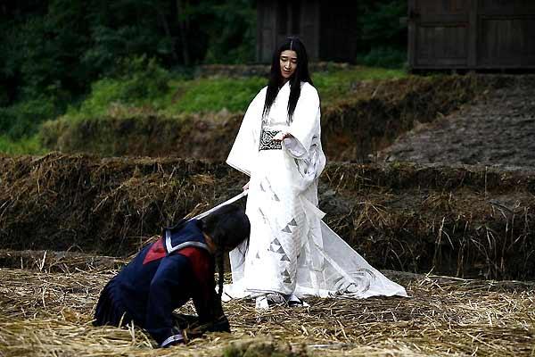Blood: The Last Vampire : Photo Chris Nahon, Gianna Jun, Ji-Huyn Jun, Katô Koyuki
