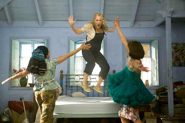 Mamma Mia ! : photo Christine Baranski, Julie Walters, Meryl Streep, Phyllida Lloyd