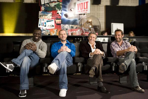 Volt, star malgré lui : Photo Chris Williams, Fred Testot, Gilles Lellouche, Omar Sy, Richard Anconina