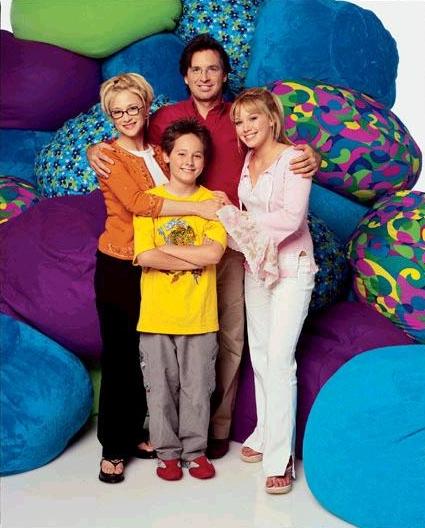 Lizzie McGuire : Photo Hallie Todd, Hilary Duff, Jake Thomas, Robert Carradine
