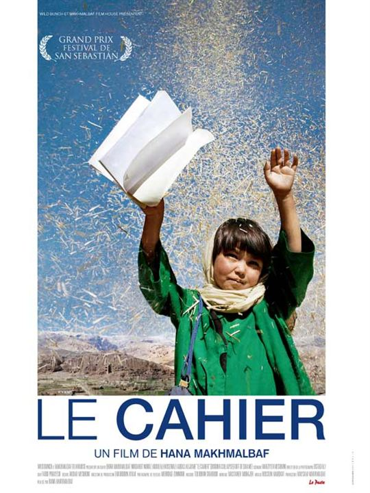 Le Cahier : affiche Hana Makhmalbaf, Nikbakht Noruz
