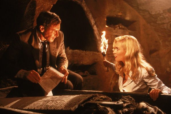 Indiana Jones et la Dernière Croisade : Photo Alison Doody, Harrison Ford