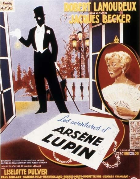 Les Aventures d'Arsène Lupin : Affiche
