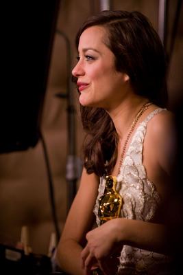 Cérémonie des Oscars 2008 : Photo Marion Cotillard