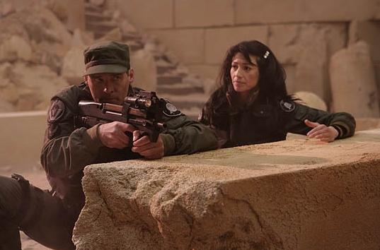 Stargate SG-1 : Photo Ben Browder, Claudia Black