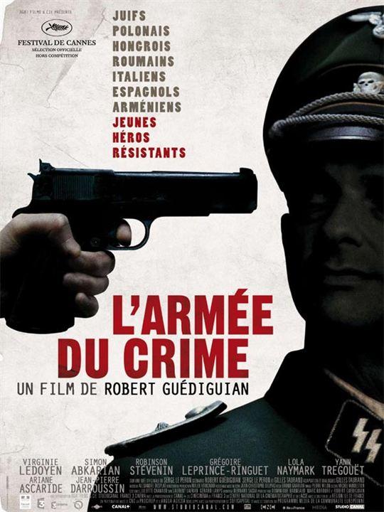L'Armée du crime : Affiche