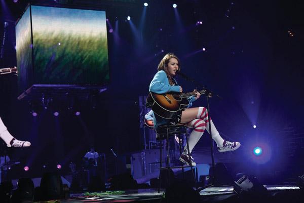 Hannah Montana et Miley Cyrus : le concert événement en 3D : Photo Bruce Hendricks, Miley Cyrus