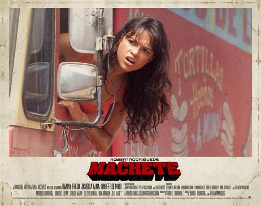 Machete : Affiche Michelle Rodriguez