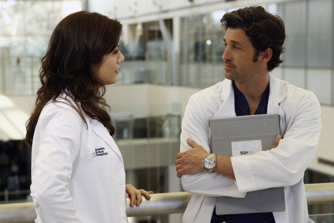 Grey's Anatomy : Photo Kate Walsh, Patrick Dempsey