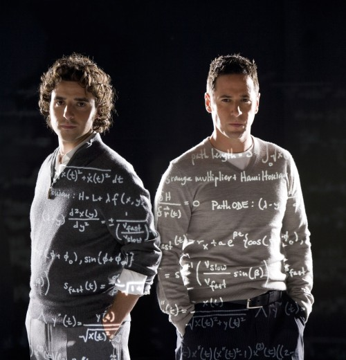Numb3rs : Photo David Krumholtz, Rob Morrow