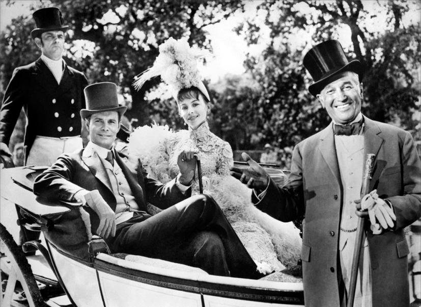 Gigi : Photo Leslie Caron, Louis Jourdan, Maurice Chevalier