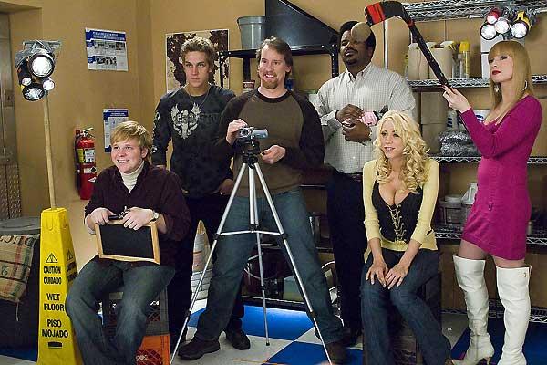 Zack & Miri font un porno : Photo Craig Robinson, Jason Mewes, Jeff Anderson, Katie Morgan, Kevin Smith