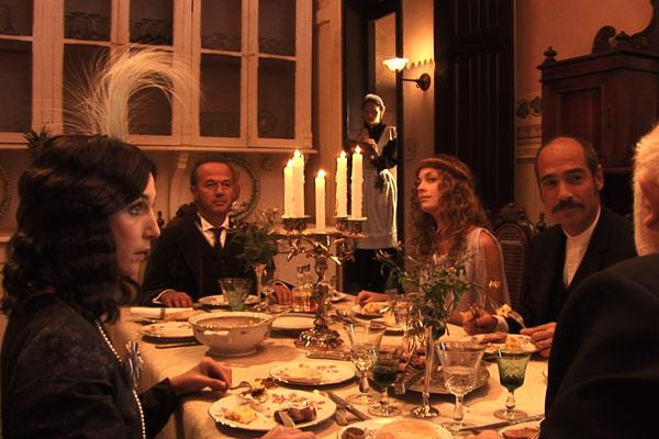 La Maison Nucingen : Photo Elsa Zylberstein, Jean-Marc Barr, Laure De Clermont-Tonnerre, Raoul Ruiz