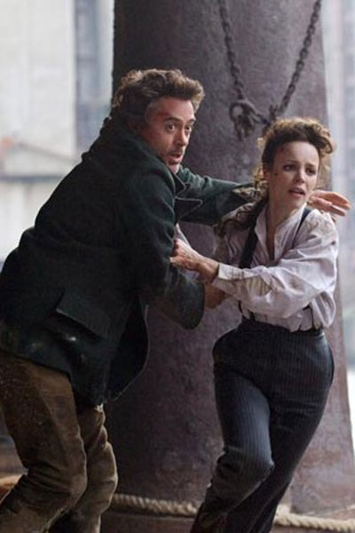 Sherlock Holmes : Photo Rachel McAdams, Robert Downey Jr.