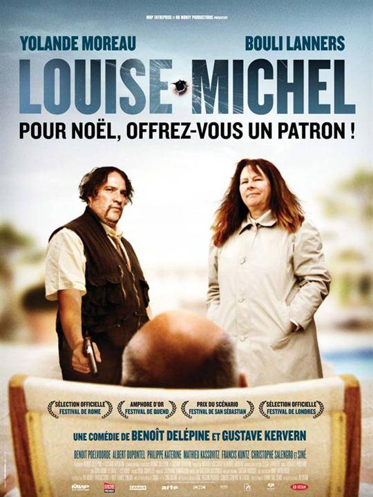 Louise-Michel : Affiche Bouli Lanners, Gustave Kervern, Yolande Moreau