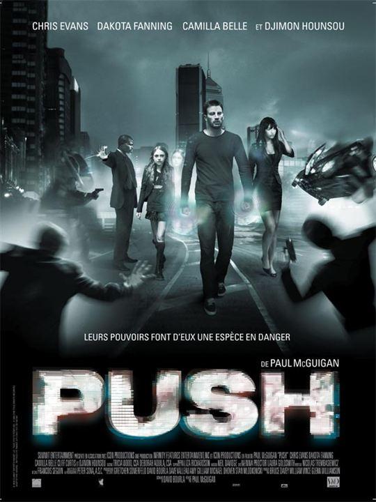 Push : Affiche Paul McGuigan