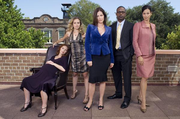 American Wives : Photo Brigid Brannagh, Catherine Bell, Kim Delaney, Sally Pressman, Sterling K. Brown