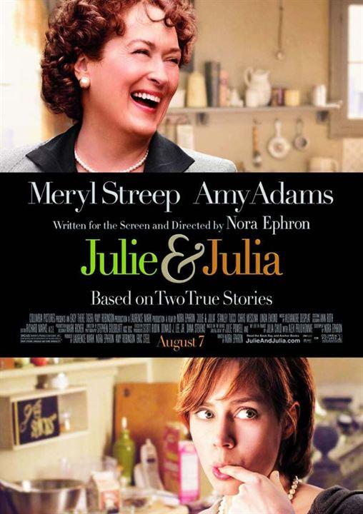 Julie et Julia : Affiche Nora Ephron