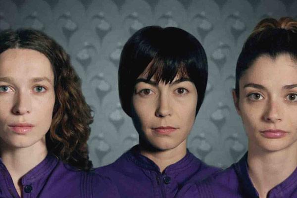 Les Violette : Photo Benoît Cohen, Eléonore Pourriat, Emmanuelle Destremau, Gaela Le Devehat