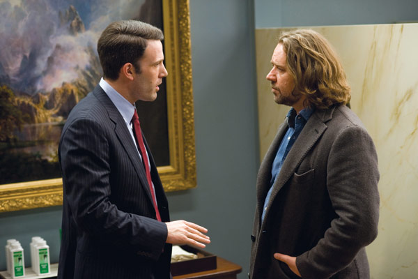 Jeux de Pouvoir : Photo Ben Affleck, Russell Crowe