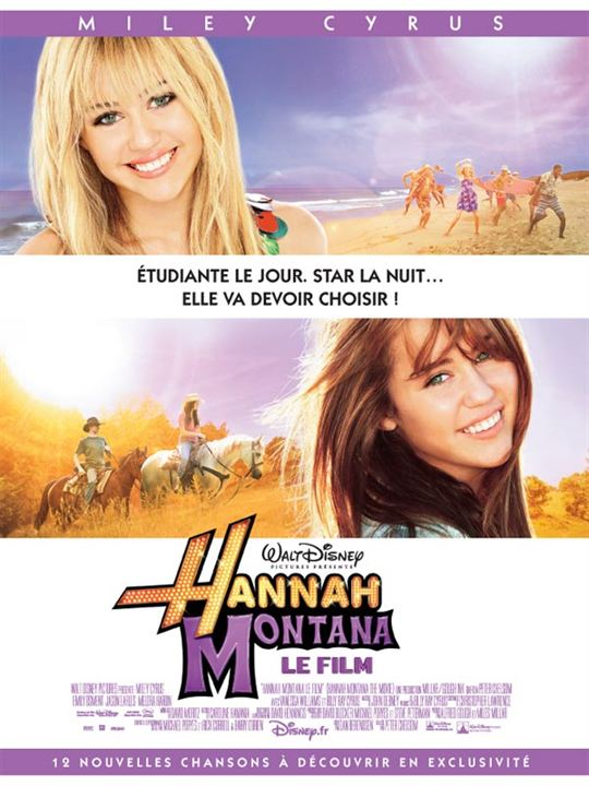 Hannah Montana, le film : Affiche Peter Chelsom