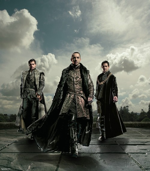 Les Tudors : Photo Henry Cavill, James Frain, Jonathan Rhys-Meyers