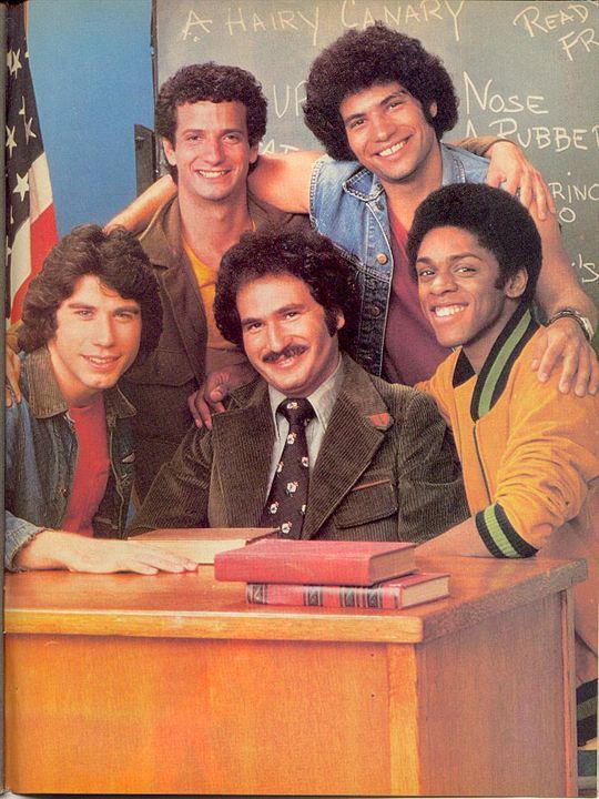 Welcome Back, Kotter : Photo Gabe Kaplan, John Travolta, Lawrence-Hilton Jacobs, Robert Hegyes, Ron Palillo