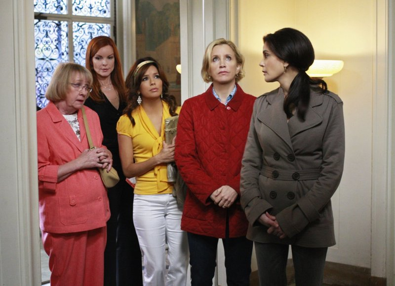 Desperate Housewives : Photo Eva Longoria, Felicity Huffman, Kathryn Joosten, Marcia Cross, Teri Hatcher
