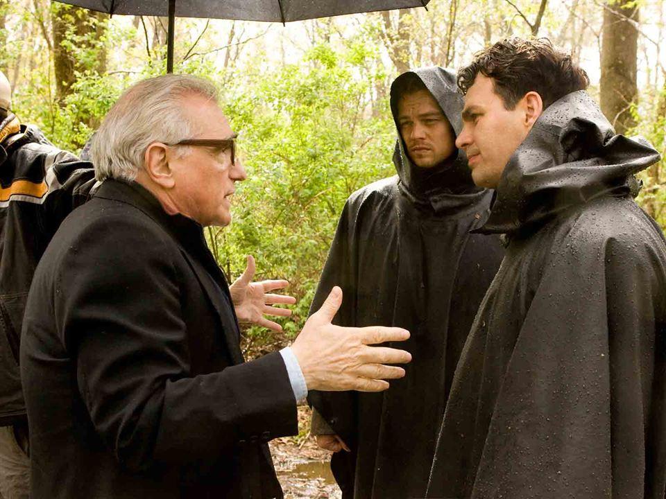 Shutter Island : Photo Leonardo DiCaprio, Mark Ruffalo, Martin Scorsese