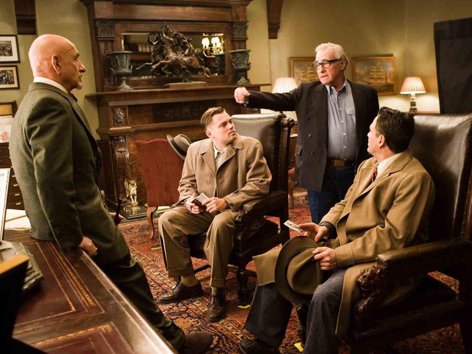 Shutter Island : Photo Ben Kingsley, Leonardo DiCaprio, Mark Ruffalo, Martin Scorsese