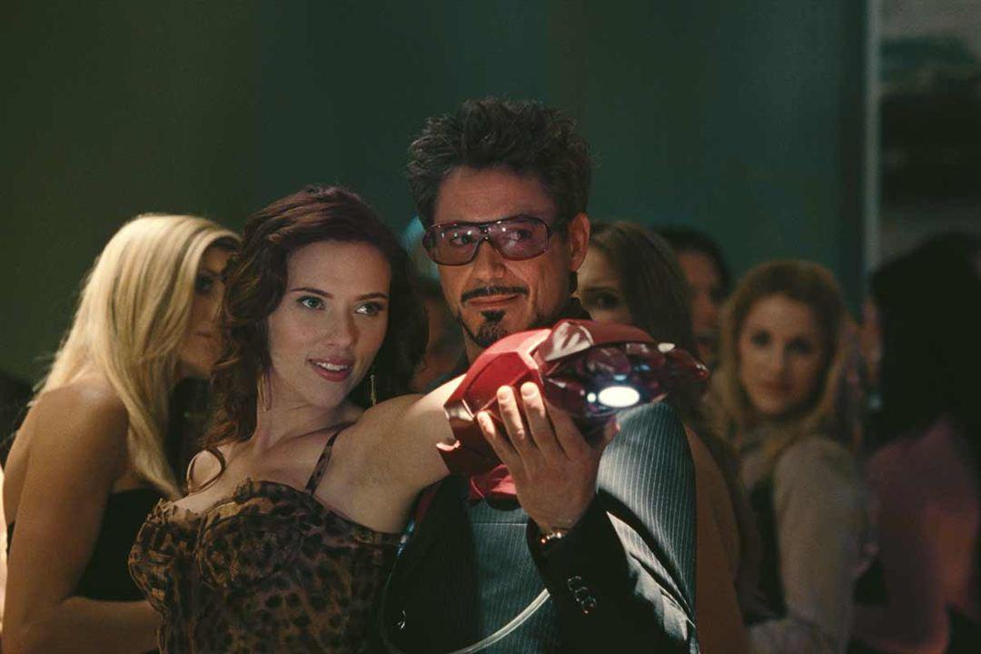 Iron Man 2 : Photo Robert Downey Jr., Scarlett Johansson