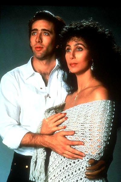 Eclair de lune : Photo Cher, Nicolas Cage