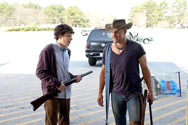 Bienvenue à Zombieland : Photo Jesse Eisenberg, Woody Harrelson