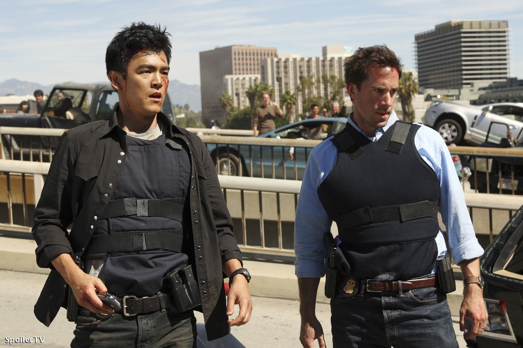 FlashForward : Photo John Cho, Joseph Fiennes