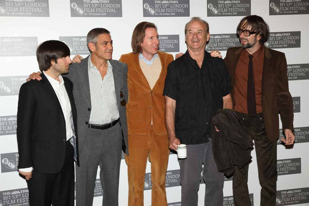 Fantastic Mr. Fox : Photo promotionnelle Bill Murray, George Clooney, Jarvis Cocker, Jason Schwartzman, Wes Anderson