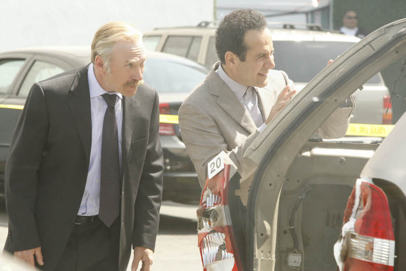 Monk : Photo Ted Levine, Tony Shalhoub