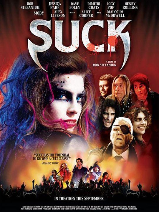 Suck : Affiche