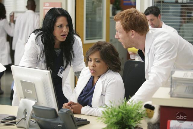 Grey's Anatomy : Photo Chandra Wilson, Kevin McKidd, Sara Ramirez