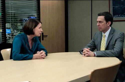 Photo Ed Helms, Maura Tierney
