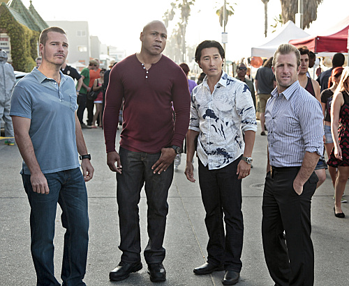 Photo Chris O'Donnell, Daniel Dae Kim, LL Cool J, Scott Caan