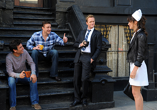 How I Met Your Mother : Photo Cobie Smulders, Jason Segel, Josh Radnor, Neil Patrick Harris