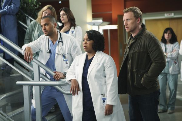 Grey's Anatomy : Photo Chandra Wilson, Jesse Williams, Kevin McKidd