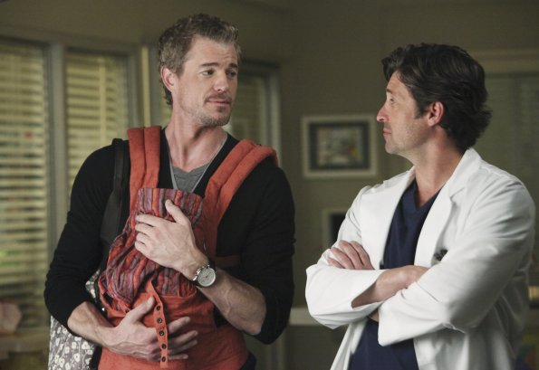 Photo Eric Dane, Patrick Dempsey